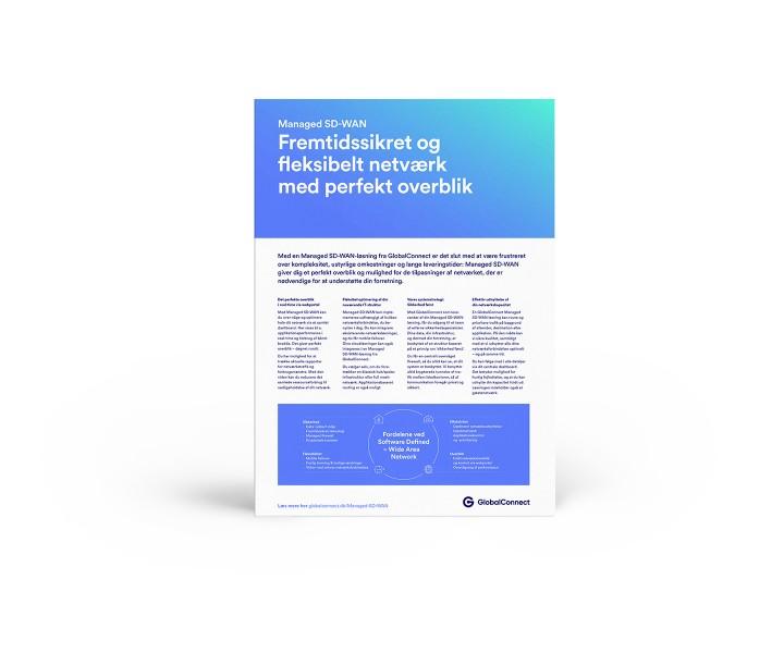 Managed SD-WAN: Fremtidssikret og fleksibelt netværk med perfekt overblik