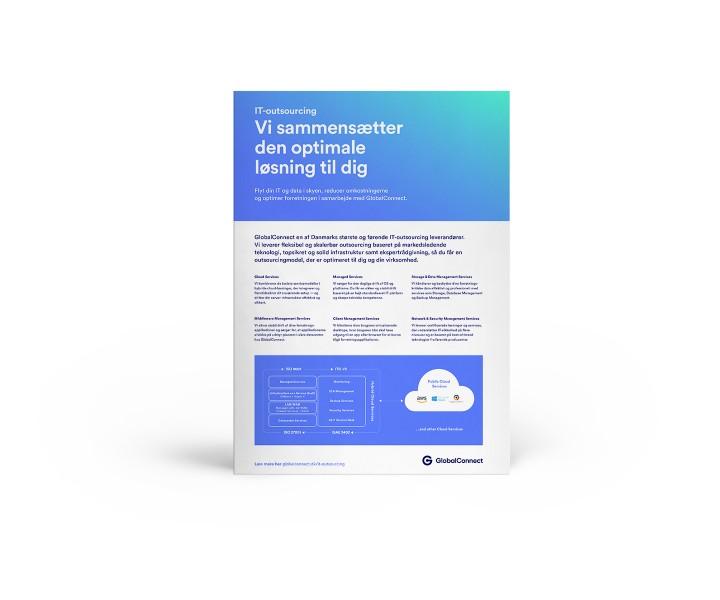 IT-Outsourcing fra GlobalConnect: Vi sammensætter den optimale løsning til dig