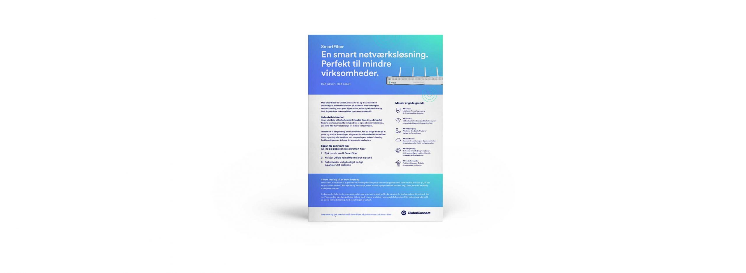 Smartfiber - fremtidens netværk for mindre virksomheder
